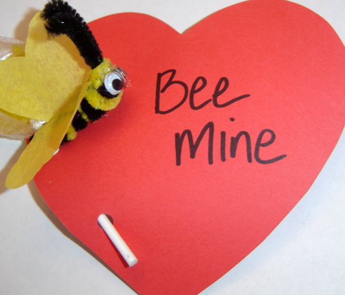 Bee mine closeup 500